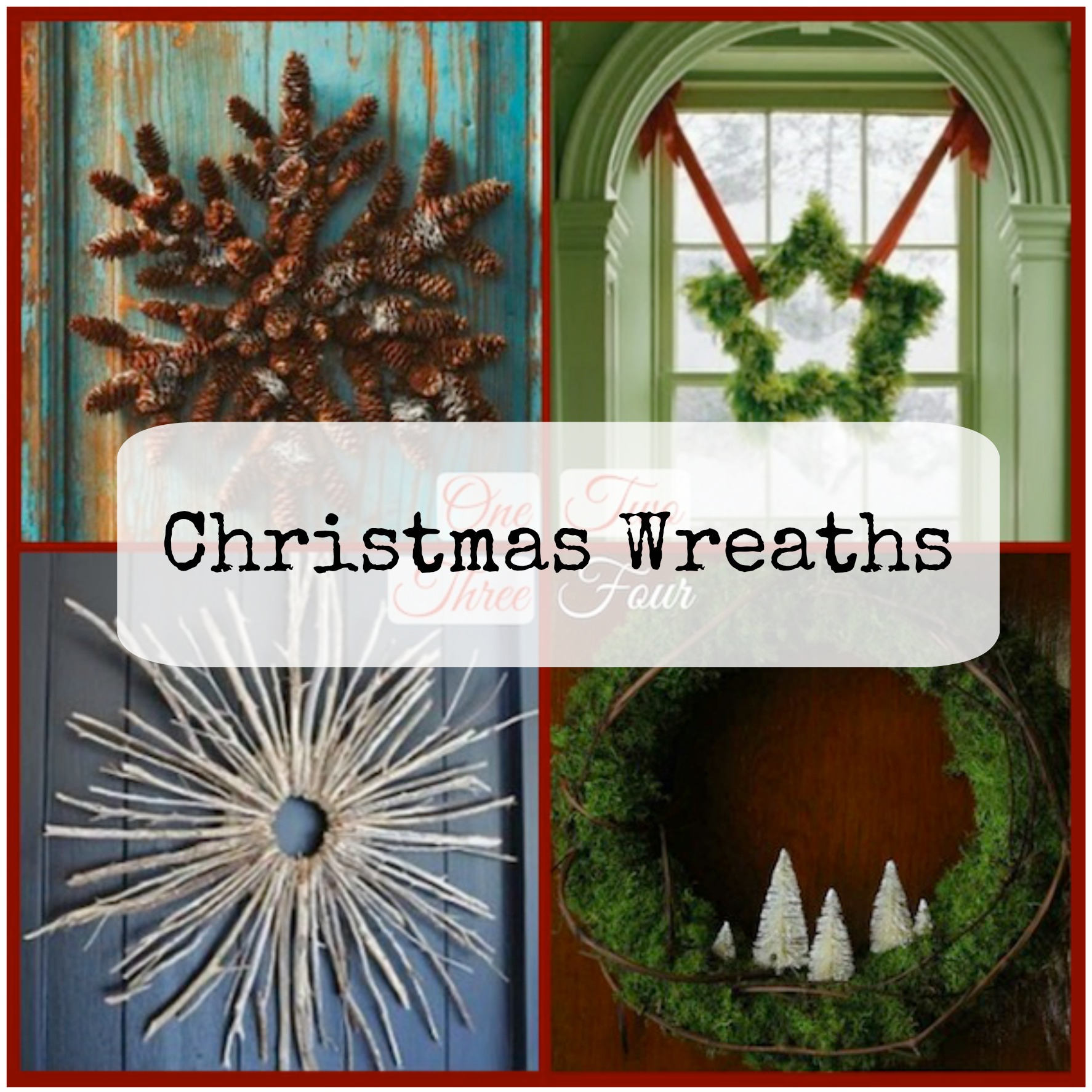My Pinterest Picks: Christmas Wreaths