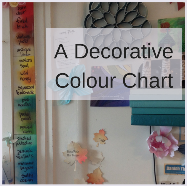 Organising Your Distress Inks + An Unexpected Wall Art
