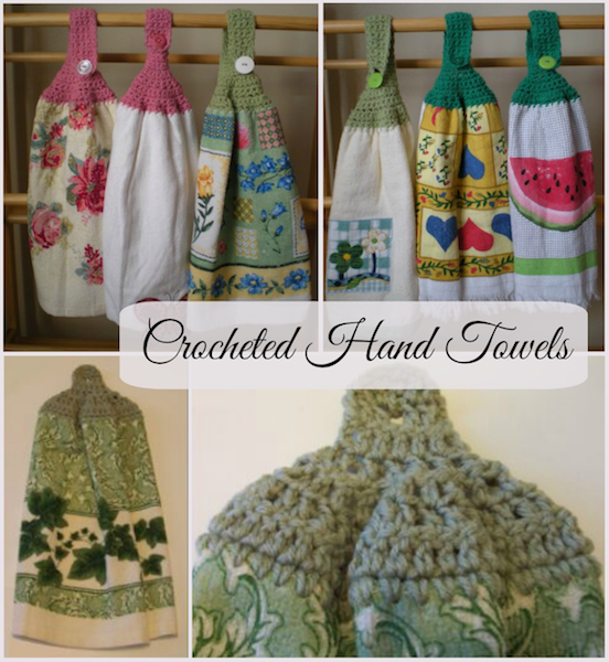 Collection of Crocheted Hand Towels