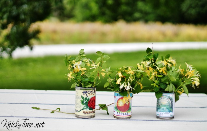tin-cans-flower-vases