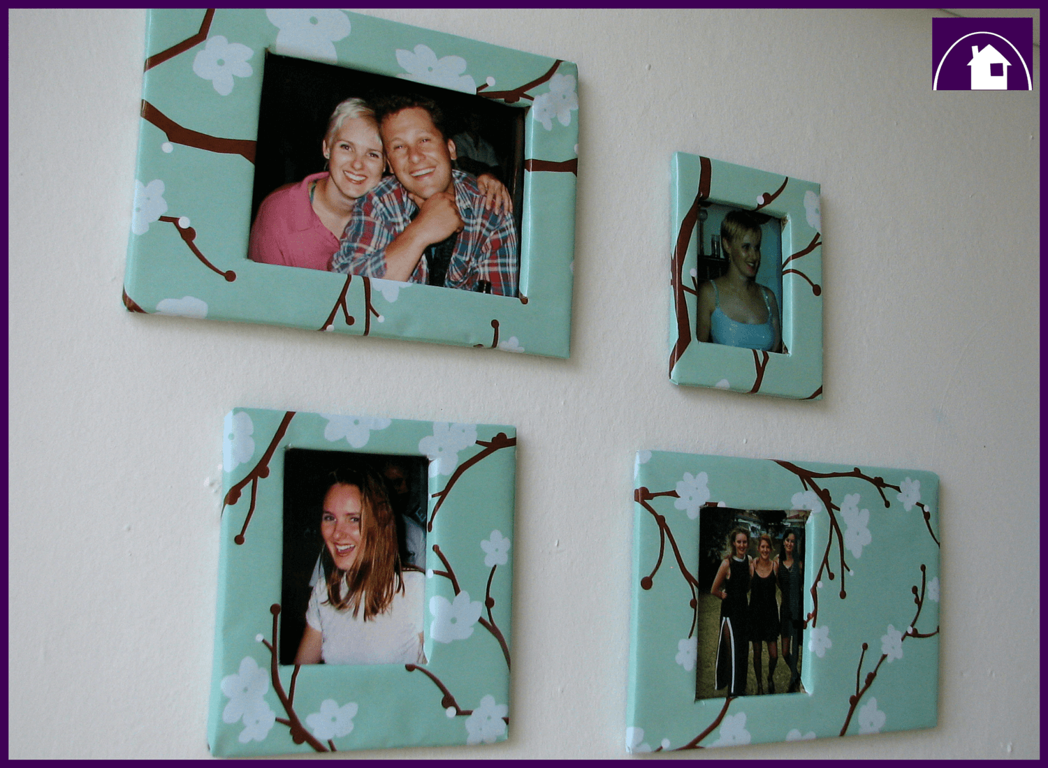 The easiest way to make DIY bespoke photo frames for your room