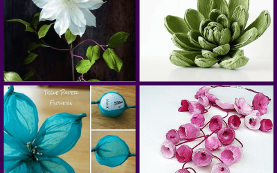Pinterest Picks: Crepe Paper Flowers