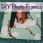 Surviving School Holidays: FREE Activity No 3 – DIY Cardboard Photo Frames
