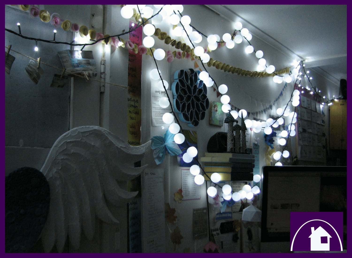 DIY Tutorial:  a just magical tutorial for Ping Pong Fairy Lights