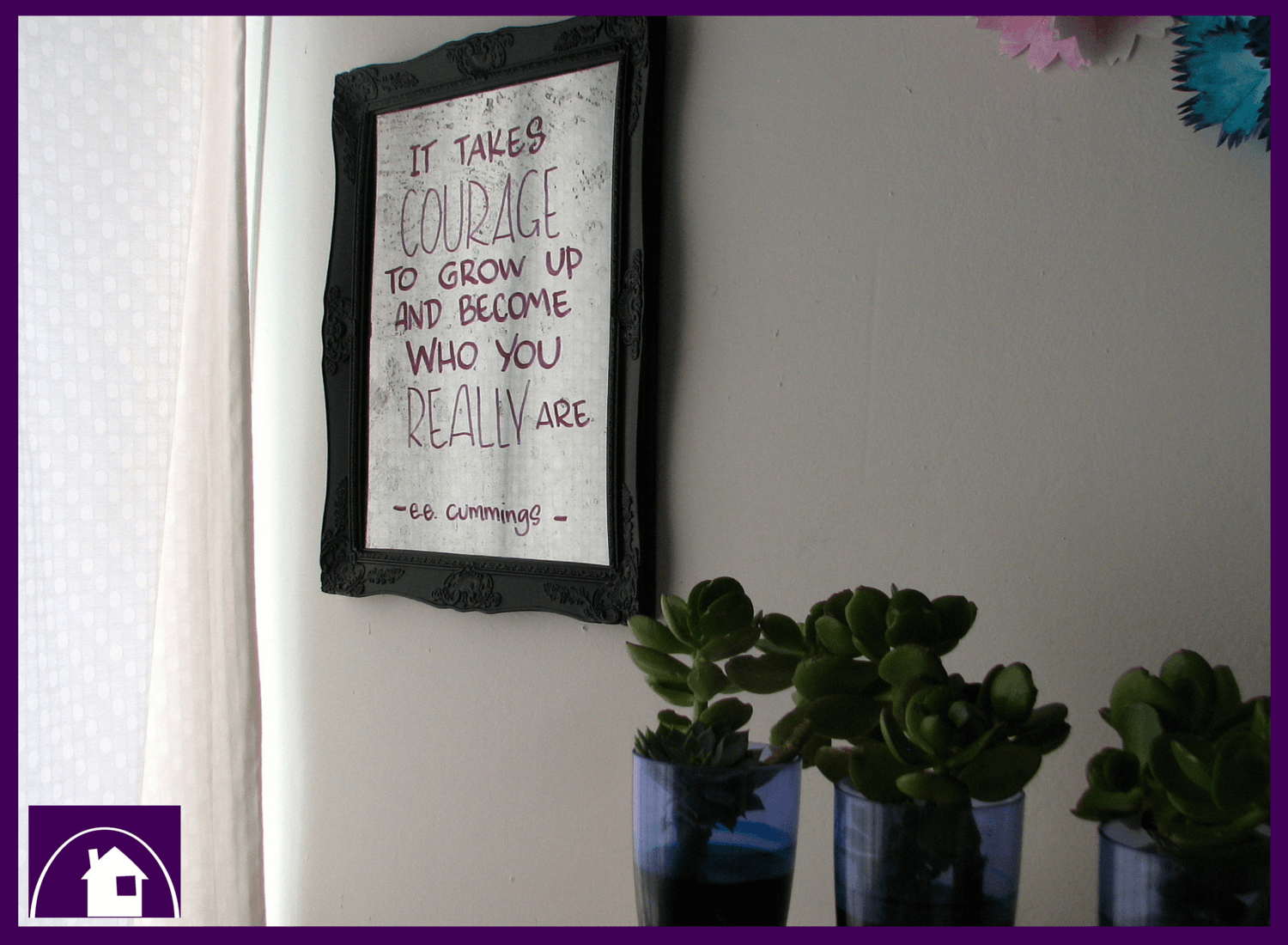 Want to learn how to write like a pro onto a mirrored surface? Check out this awesome DIY Tutorial at the Purple Paper House